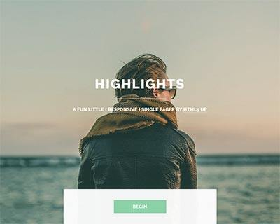 highlights-jekyll-theme Jekyll Themes & Templates