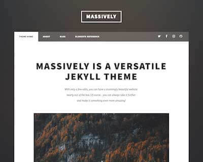 jekyll-theme-massively-src Jekyll Themes & Templates