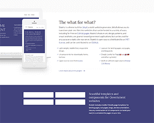 stately Jekyll Theme & Template